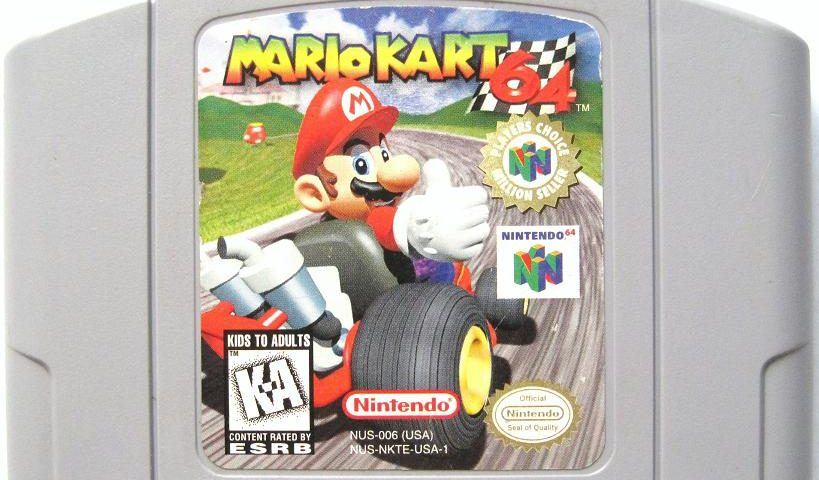 Mario Kart 64 Nintendo 64 Record Works