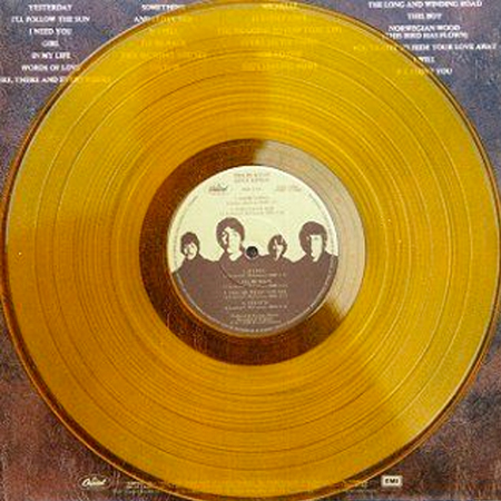 The Beatles Love Song Coloured Vinyl Lp Record Works